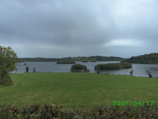 Vue de lac irlandais
