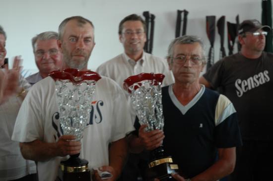 Les vainqueurs:  A Davaine et F Delassus  (CD 62)